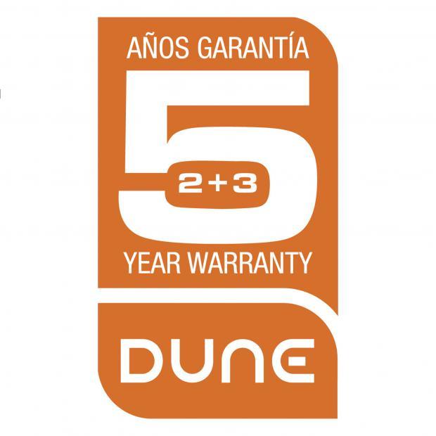 Garantía Dune 2+3 años