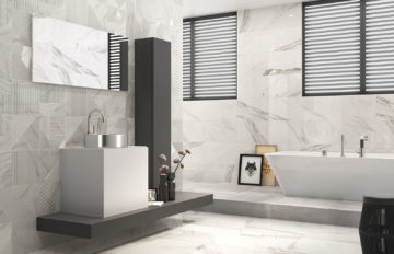 Dune's calacatta, a very special polished tiles
