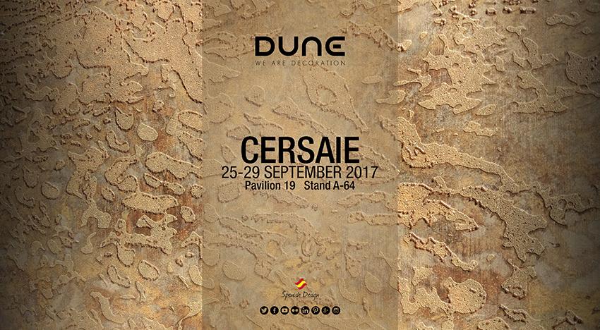 Dune en Cersaie 2017