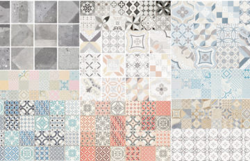 Hydraulics, timeless and versatile tiles