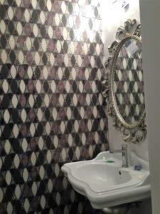 bathroom with dune design