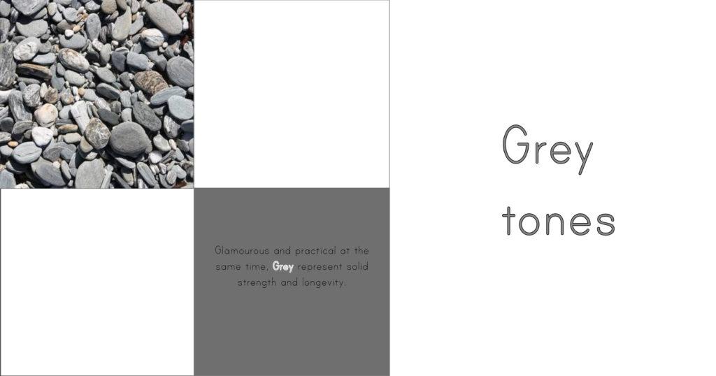 La versatilidad del gris