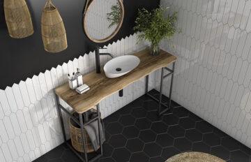 Las mejores combinaciones de azulejos para baños