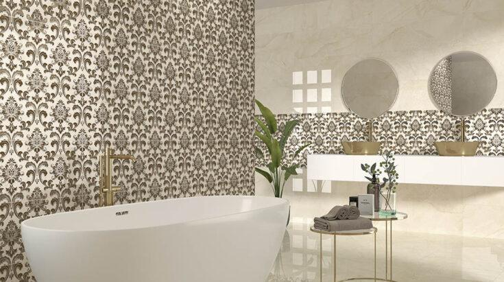 Azulejo alto brillo baño
