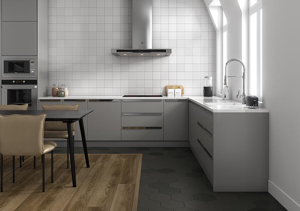 suelos vinílicos SPC imitación madera para cocina