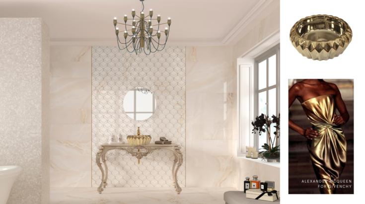 Inspiración moda Alexander McQueen y Givenchy  lavabos modernos
