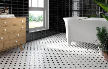 Combinaciones en blanco y negro para las estancias del hogar
