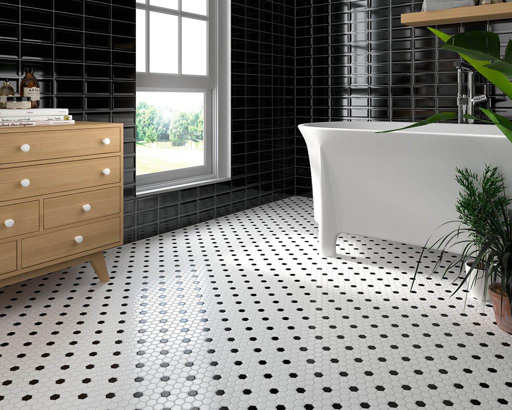 combinación blanco y negro para el hogar
