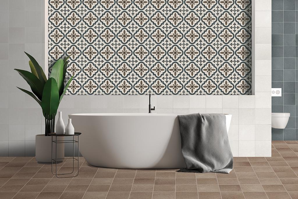 azulejo hidráulico tradicional
