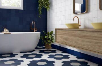 Baños con azulejos azules: 5 ideas TOP para crear espacios perfectos